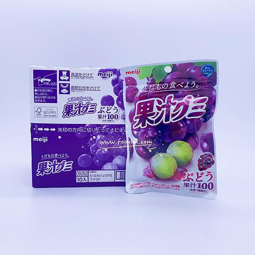 明治果汁軟糖(葡萄) 51gx10包