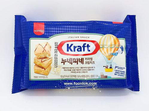 Kraft 焦糖奶油芝士餅乾 (100g)