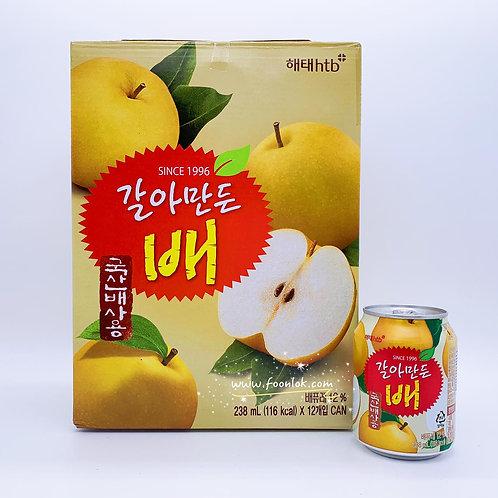 韓國海太果肉梨子汁(238mlx12罐)