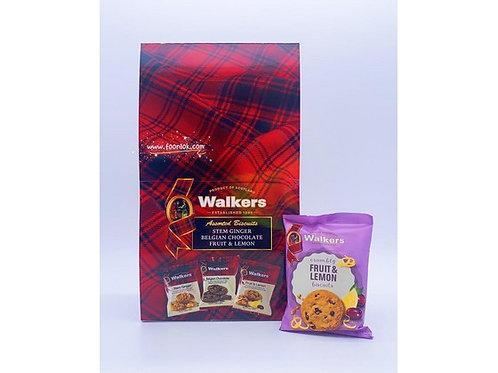 Walkers小包裝餅乾(生果&檸檬)5007(25gx24包)