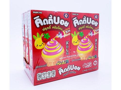 自製甜筒(草莓) (28gx6盒)