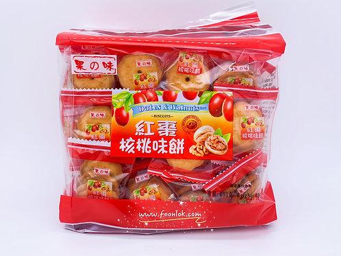 果之味紅棗核桃味餅 (400g)