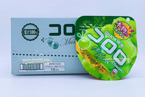 UHA CORORO果汁軟糖(青提)48gx10包