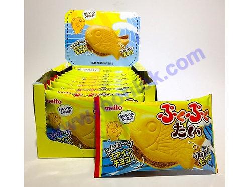 名糖夾心魚仔餅(朱古力) 1盒x10包