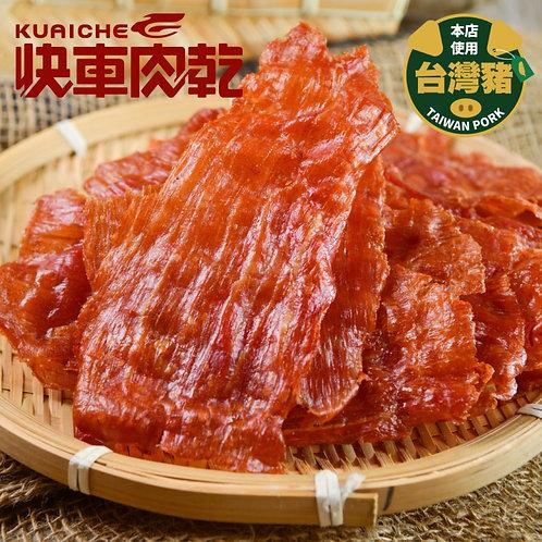 台灣*快車肉乾*蒜味豬肉紙(有嚼勁) (90g)