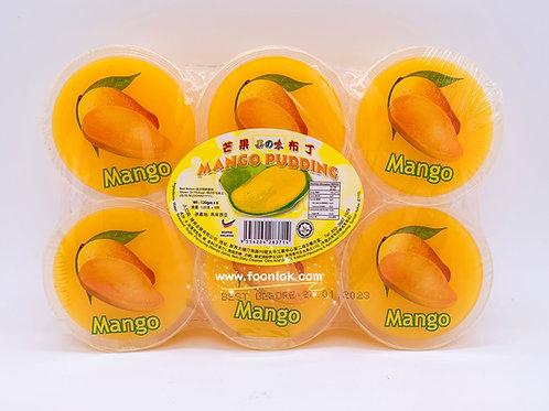 果之味芒果布丁 (120gX6杯)