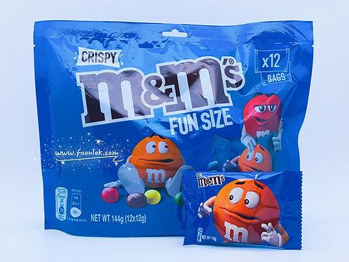 144g迷你M&M Crispy脆心朱古力
