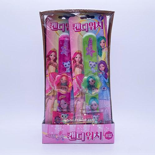 韓國JuJu公主電子手錶糖(1盒x8隻)