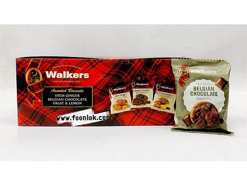 Walkers小包裝餅乾(比利時朱古力)5002(25gx24包)
