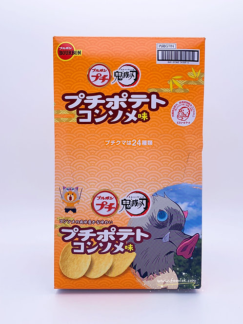 百邦清湯味薯片(34369) 45gx10條