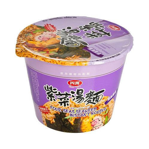 四洲湯碗麵(紫菜)100gx12碗