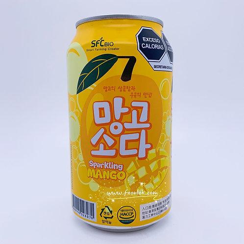 韓國SFC梳打汽水(芒果) 350mlx24罐