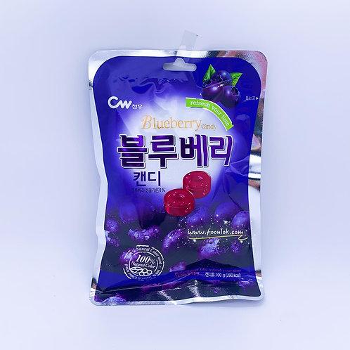韓國CW藍莓糖 (100g)