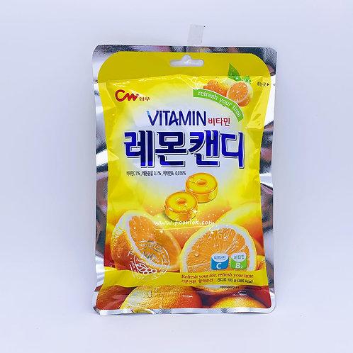 韓國CW維他命檸檬糖 (100g)