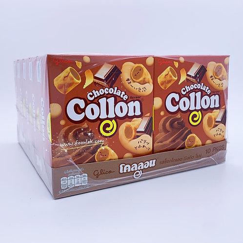 泰國固力果Collon卷(朱古力) 46gx10盒