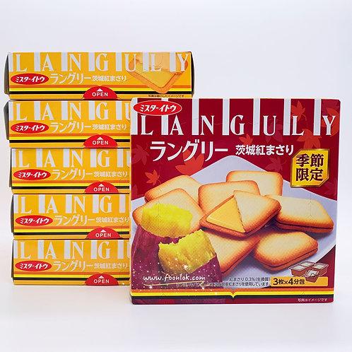 伊度夾心餅(紅芋蕃薯)(1排x6盒)