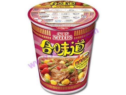 合味道杯麵(香辣牛肉)1箱x24杯