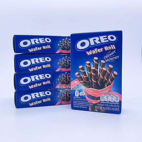 Oreo盒裝威化卷(草莓) 54gx5盒