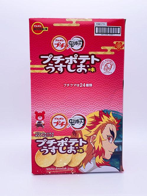 百邦日式輕鹽薯片(34368) 45gx10條