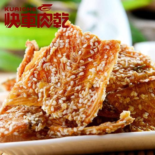 台灣*快車肉乾*比目魚骨(135g)
