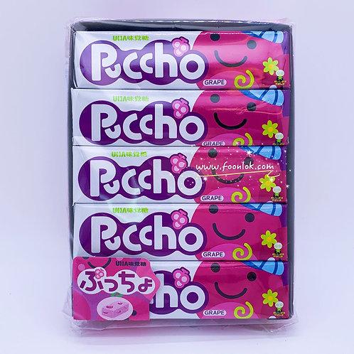 UHA Puccho條裝軟糖(巨蜂) 50gx10條