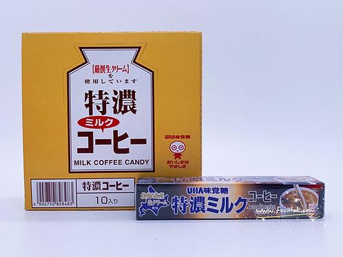 UHA 條裝特濃牛奶糖(咖啡)37gx10條