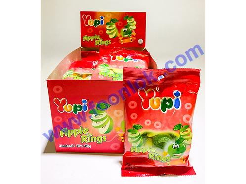 45g Yupi橡皮糖(蘋果圈)45gx12包