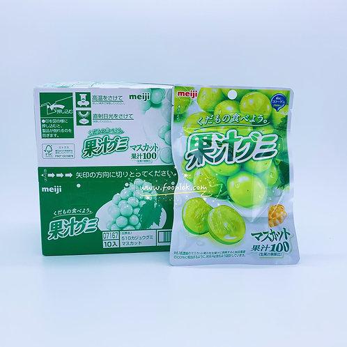 明治果汁軟糖(青提) 51gx10包