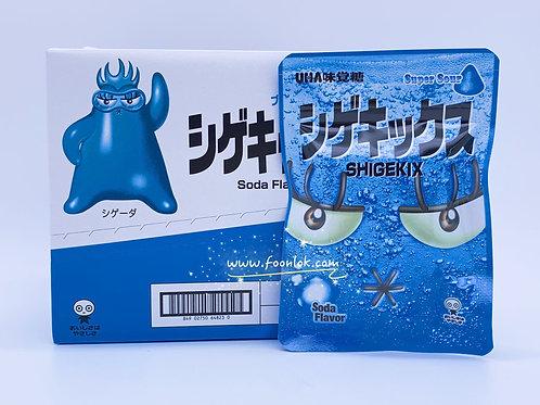 UHA Shigekix 軟糖(超酸梳打)25gx10包