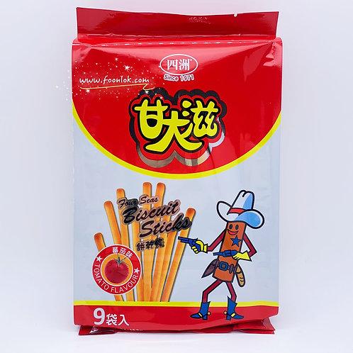 9包裝四洲甘大滋(蕃茄味) 17g
