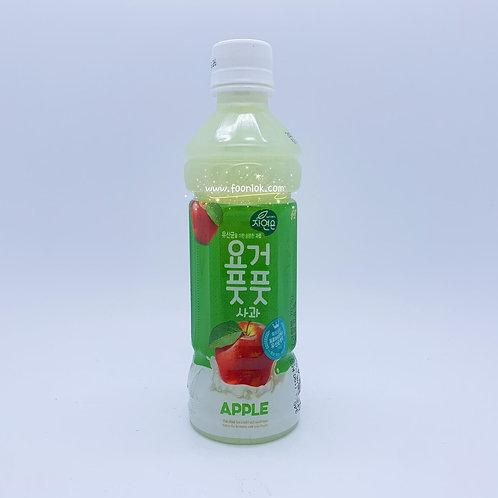 熊津 蘋果味乳酪飲品 (340mlx24支)