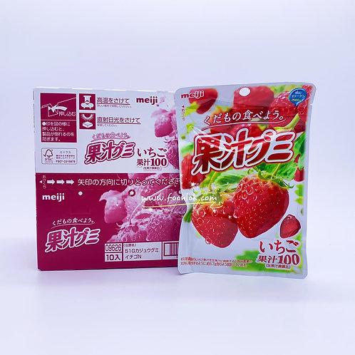 明治果汁軟糖(草莓) 51gx10包