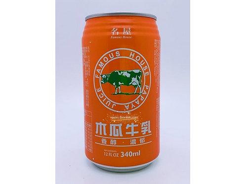 名屋木瓜牛乳(340mlx24罐)