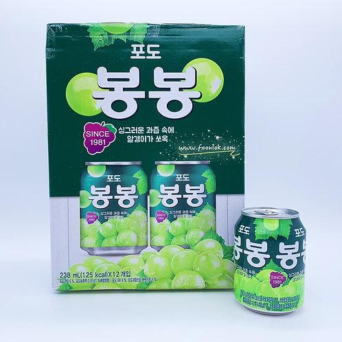 韓國海太果肉提子汁(238mlx12罐)