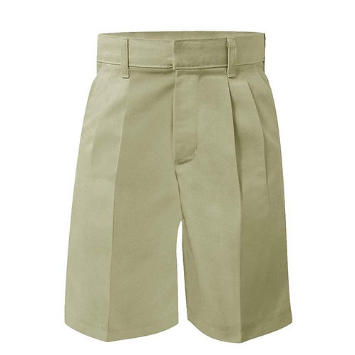 Boys Pleated Shorts Prep