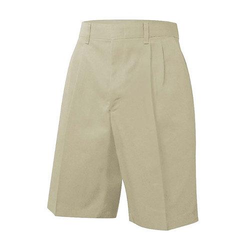 Boys Pleated Shorts Husky
