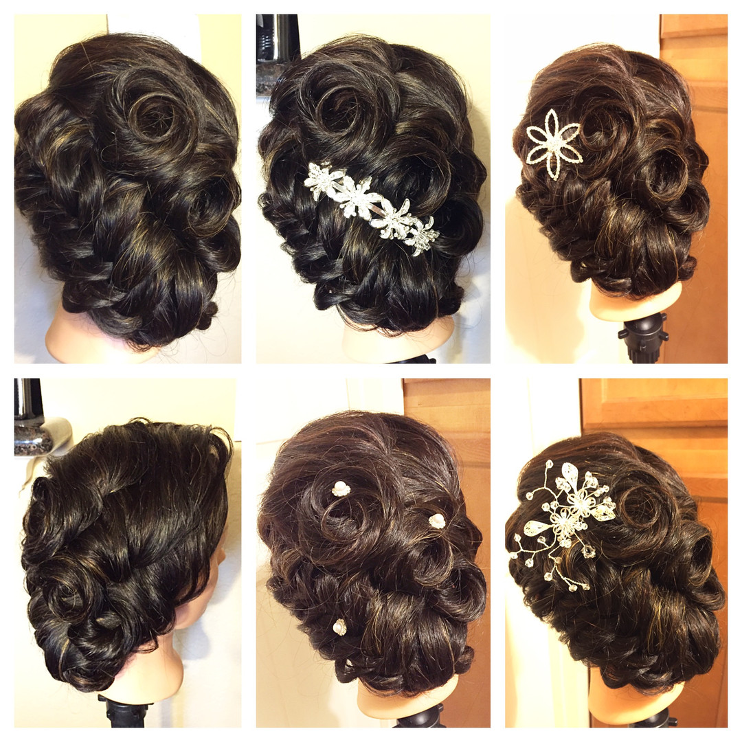 Special Occasion Hair Design / Updo Hairstyle