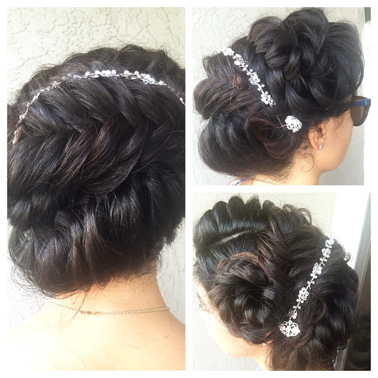 Hair Design / Updo Hairstyle