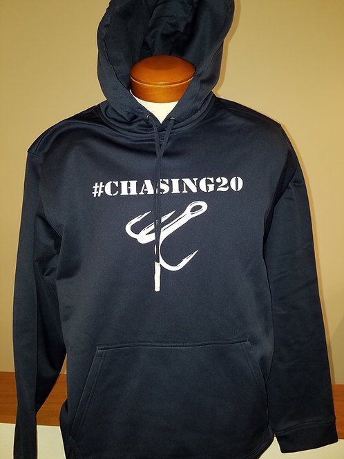 #Chasing20 Performance hoodie (solid color)