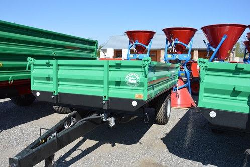 4 tonnás egytengelyes pótkocsi - légfék rendszer