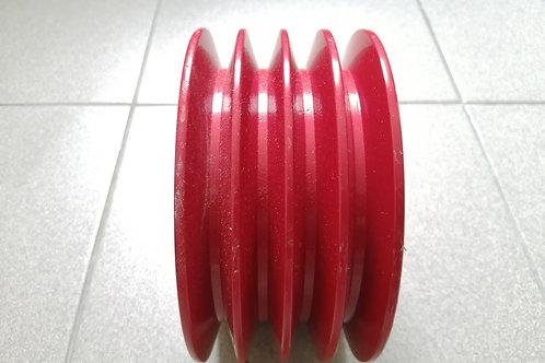 Ékszíjtárcsa (kicsi) – 4 bordás (4, 5, 6, 7 illetve 8 tárcsás fűkaszához)