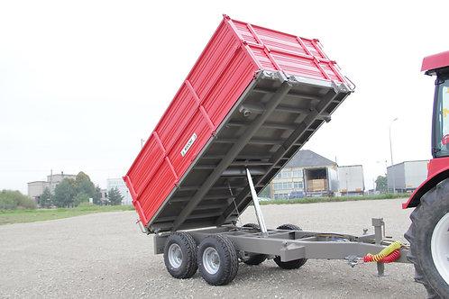 10 tonnás tandem pótkocsi BT 130 BICCHI