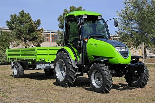 2 tonnás egytengelyes pótkocsi PV 2000 - horvát