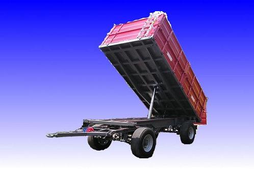 4,6 tonnás kéttengelyes pótkocsi 2B60 BICCHI