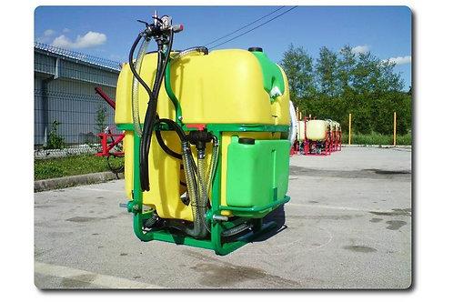 Axiálventillátoros permetező AML 400 literes
