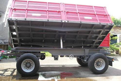 12 tonnás kéttengelyes pótkocsi 2B160 BICCHI