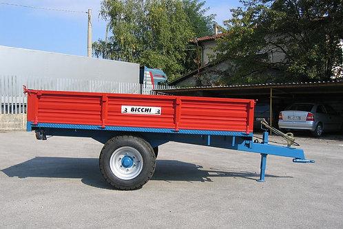 2,8 tonnás egytengelyes pótkocsi BRT 225 BICCHI