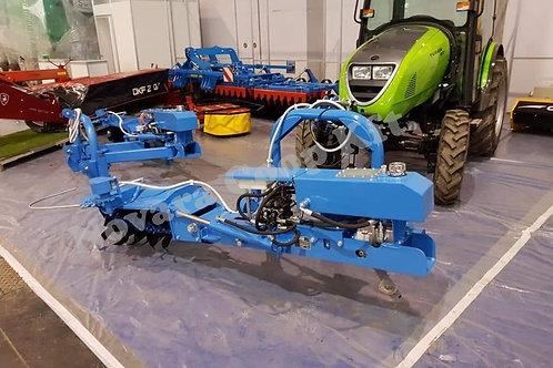 Frontfüggesztéses automata kitérésű talajmaró NCK-700