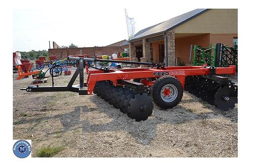 3 m-es közép-nehéz vontatott V tárcsa 150 x 150