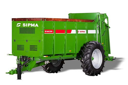 SIPMA RO 600 ZEFIRszervestrágyaszóró